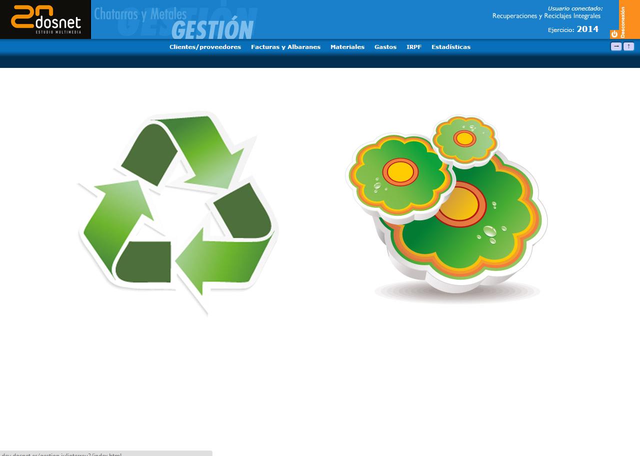 Imagen del proyecto: Actualización del software de gestión de Residuos y Reciclajes