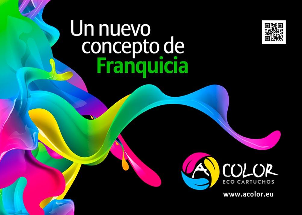 Imagen del proyecto: Dossier de presentación para la franquicia de eco-cartuchos ACOLOR