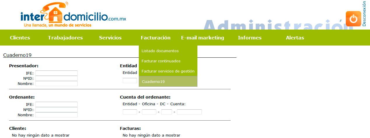 Imagen del proyecto: Software de gestión empresarial online de la franquicia Interdomicilio en México