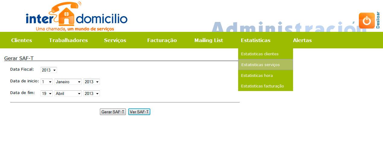 Imagen del proyecto: Software de gestión empresarial online de la franquicia Interdomicilio en Portugal