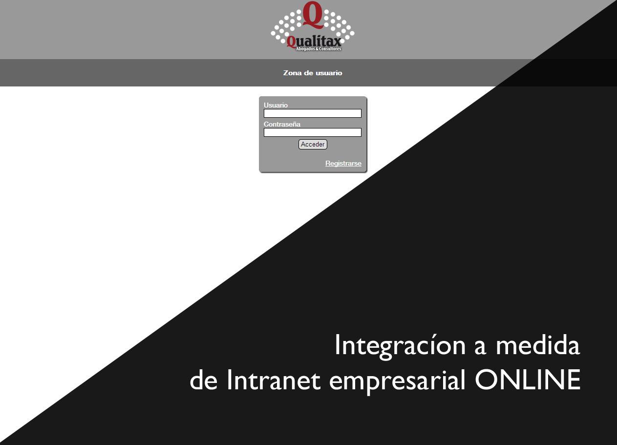 Imagen del proyecto: Intranet Empresarial Online para Qualitax Abogados y Consultores