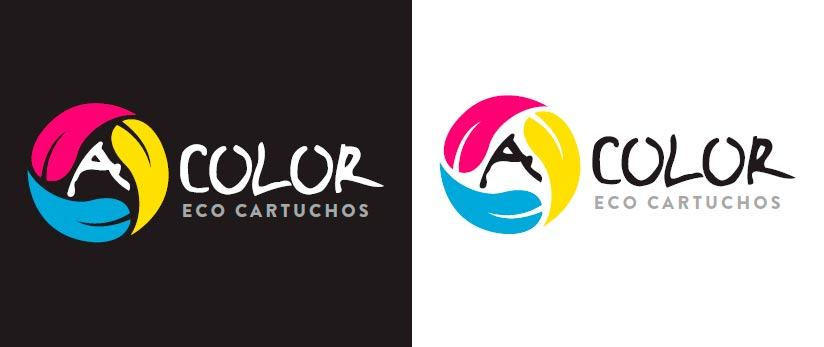 Imagen del proyecto: Creación de logotipo para la franquicia de eco-cartuchos ACOLOR
