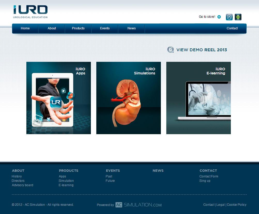 Imagen del proyecto: Programación Web para iURO (urological education)