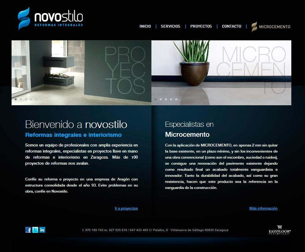 Imagen del proyecto: Página Web para Novo Stilo