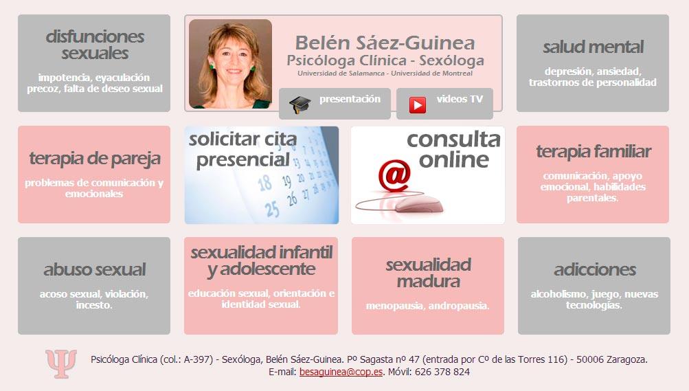 Imagen del proyecto: Página Web de psicosexología online