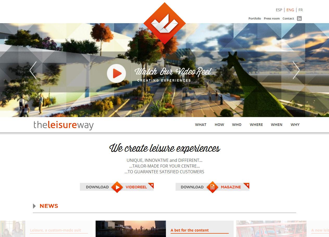 Imagen del proyecto: Página Web para The Leisure Way